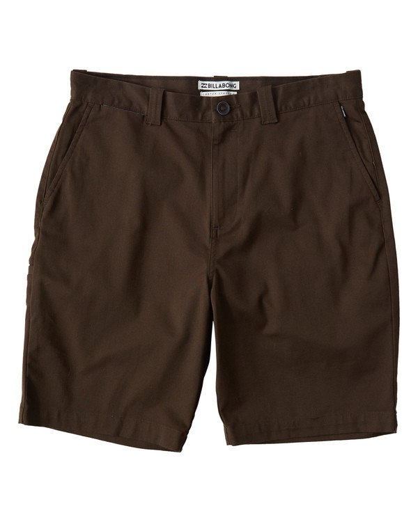 0 Carter Stretch Shorts Brown M236VBCS Billabong