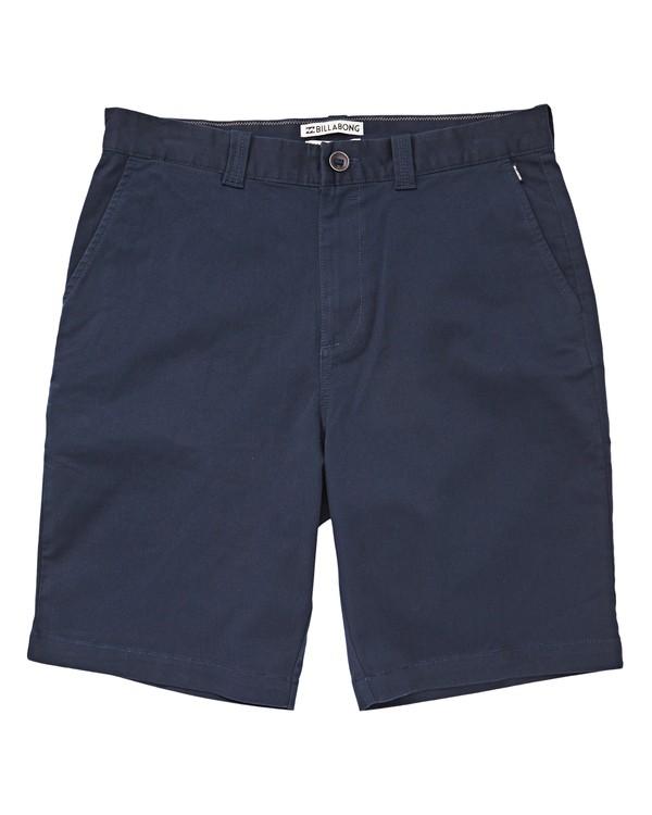 0 Carter Stretch Shorts Blue M236VBCS Billabong