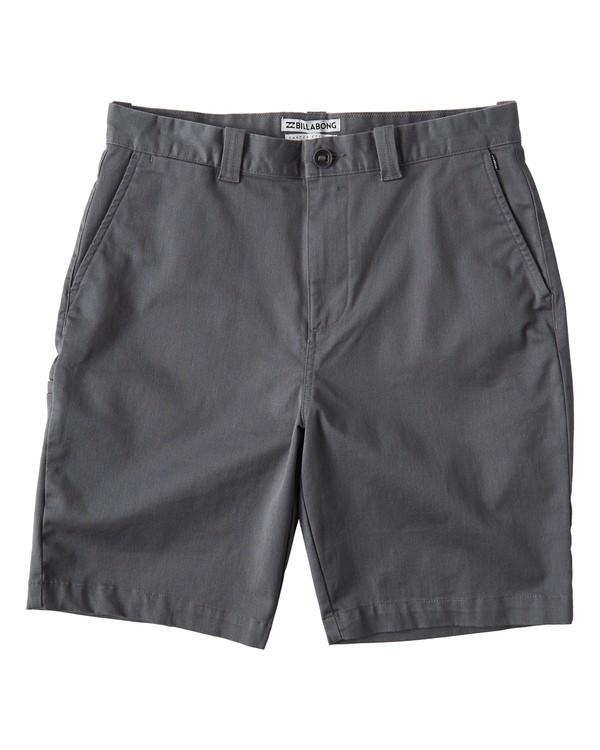 0 Carter Stretch Shorts Grey M236VBCS Billabong