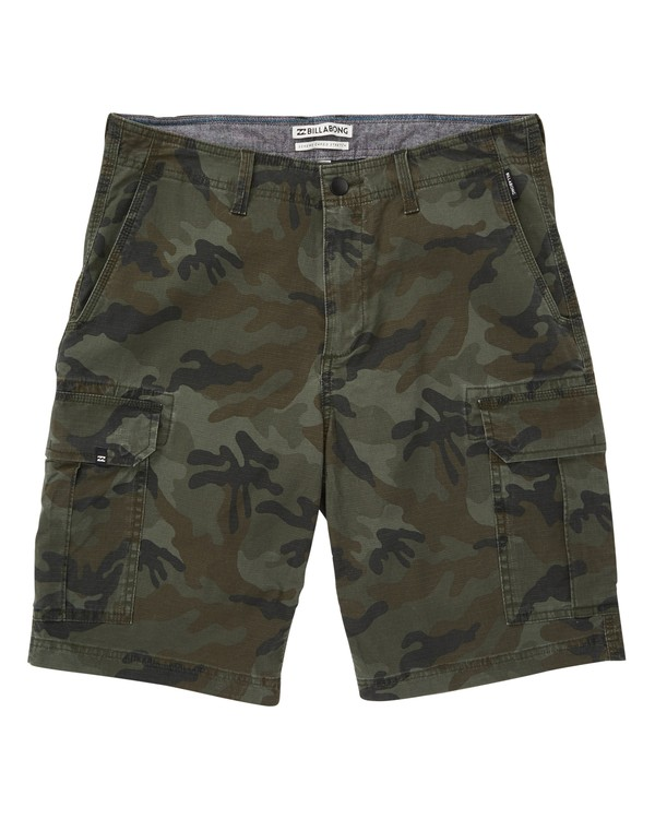 0 Scheme Cargo Walkshorts Black M236VBSC Billabong