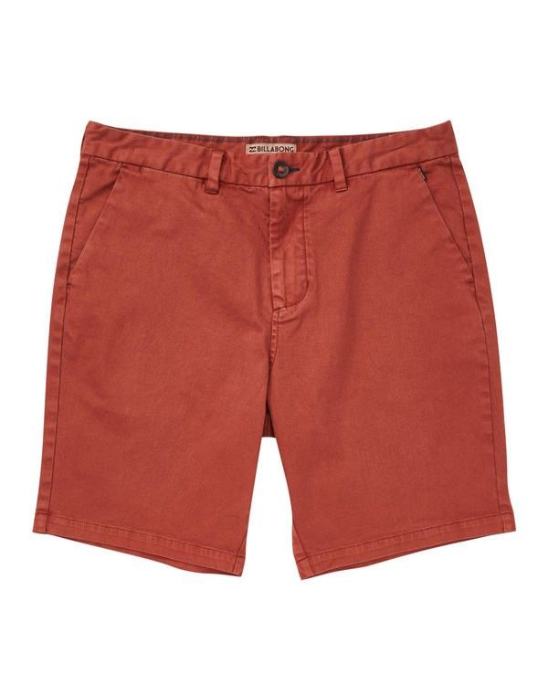 0 New Order Wave Wash Shorts Red M237TBNE Billabong
