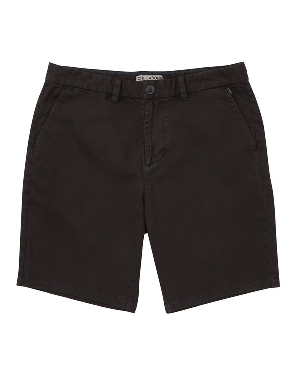 0 New Order Wave Wash Shorts Black M237TBNE Billabong