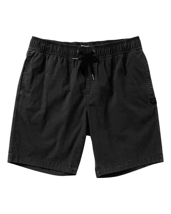 0 Larry Layback Walkshorts Black M239TBLL Billabong