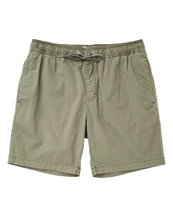 0 Larry Layback Walkshorts Green M239TBLL Billabong