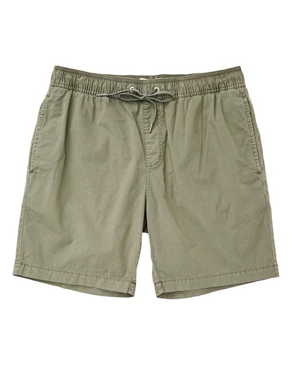 0 Larry Layback Shorts Green M239TBLL Billabong