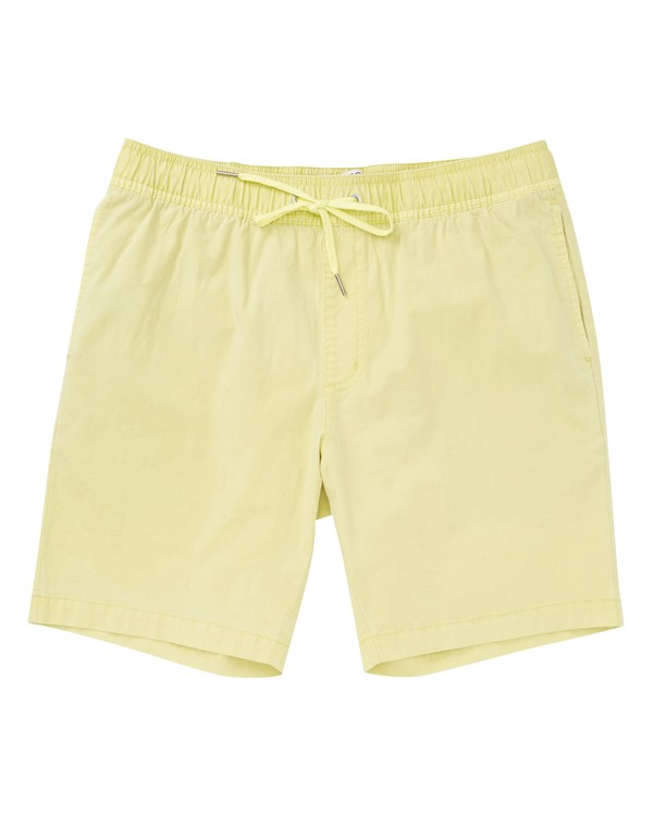 0 Larry Layback Walkshorts Green M239VBLL Billabong