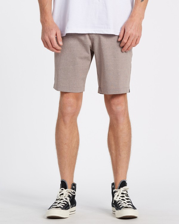 "0 A/Div Surftrek Oxford Walkshort 19"" Orange M2451BSO Billabong"
