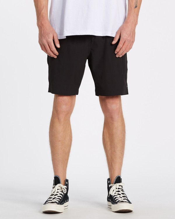 0 Transport Elastic Short Black M2512BTE Billabong