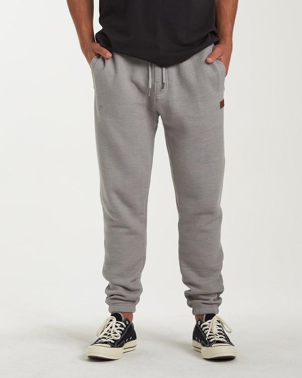 0 Balance Pant Cuffed Sweatpants Grey M300VBBP Billabong