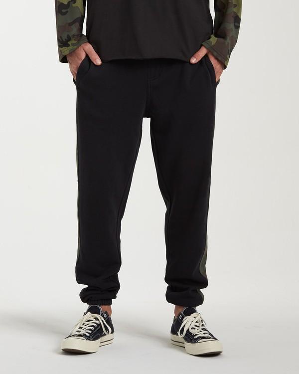 0 Wave Washed Pant Sweatpants Black M300VBWP Billabong