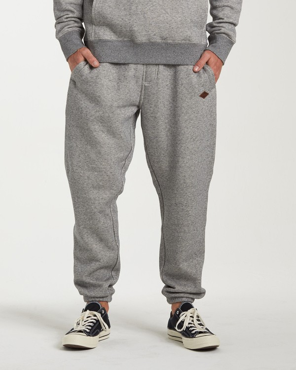 0 Hudson Sweatpants Grey M305WBHU Billabong