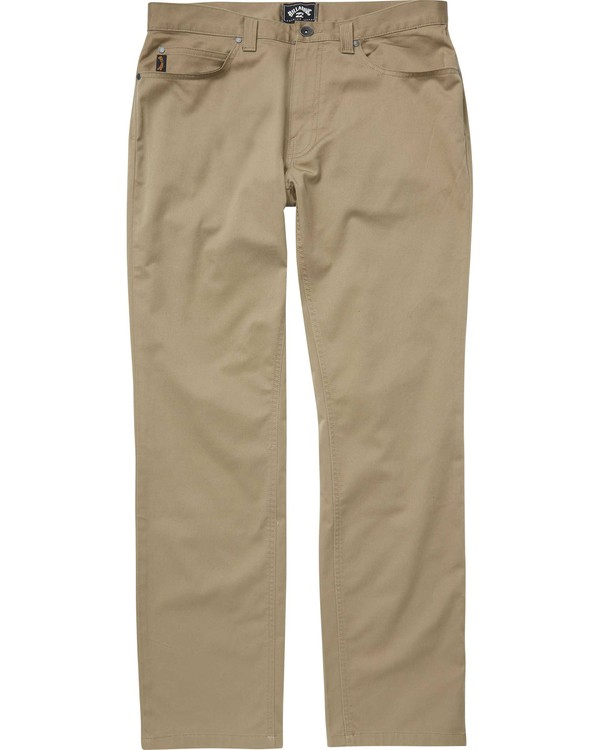0 Fifty Pant Beige M310QBFT Billabong