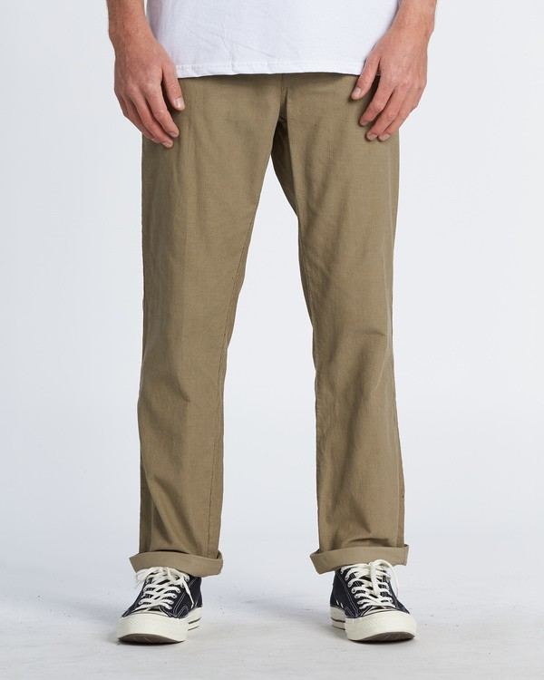 0 Larry Corduroy Pant Grey M3121BLC Billabong