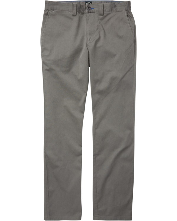 0 Carter Stretch Chino Pant Grey M3143BCS Billabong