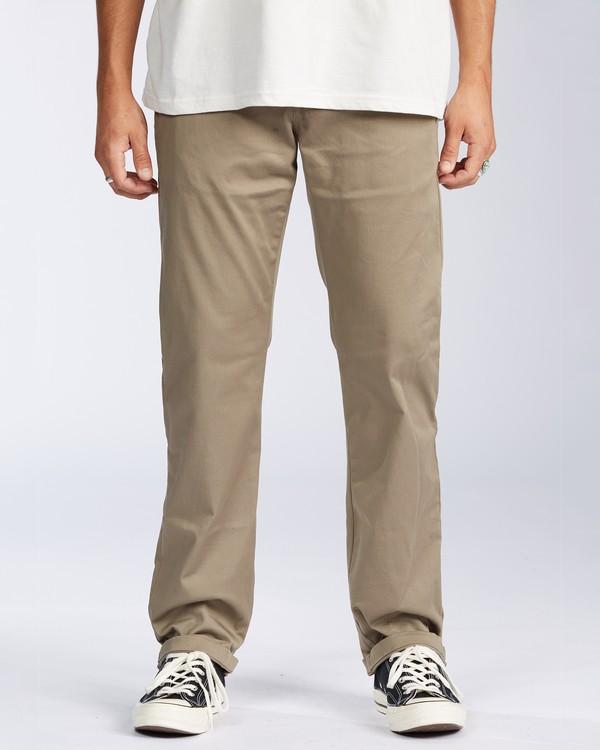 0 Carter Stretch Chino Pant Grey M3143BCS Billabong