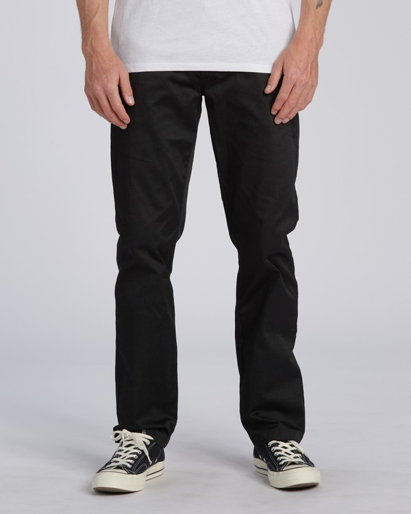 0 Carter Stretch Chino Pant Black M3143BCS Billabong