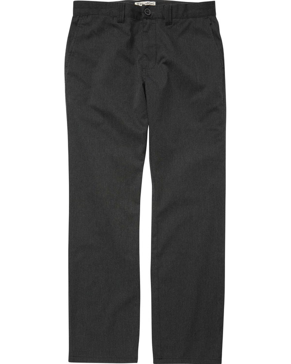 0 Carter Stretch Chino Pants Grey M314QBCS Billabong