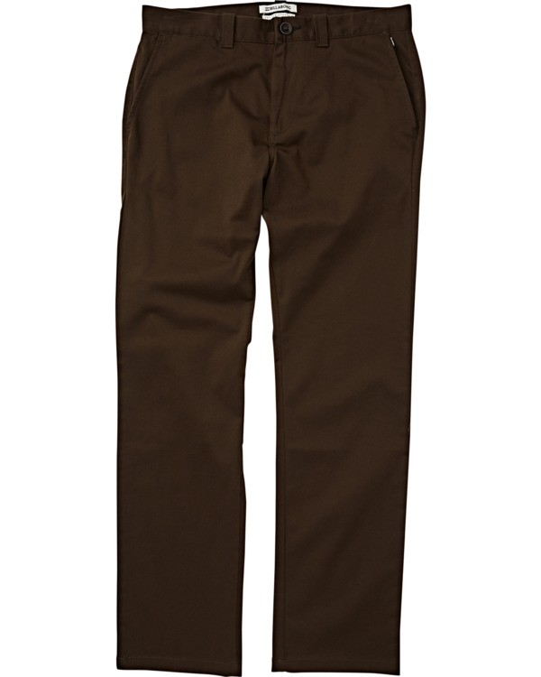 0 Carter Stretch Chino Pants Brown M314VBCS Billabong