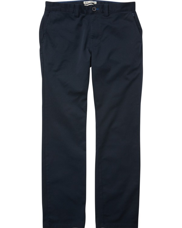 0 Carter Stretch Chino Pants Blue M314VBCS Billabong