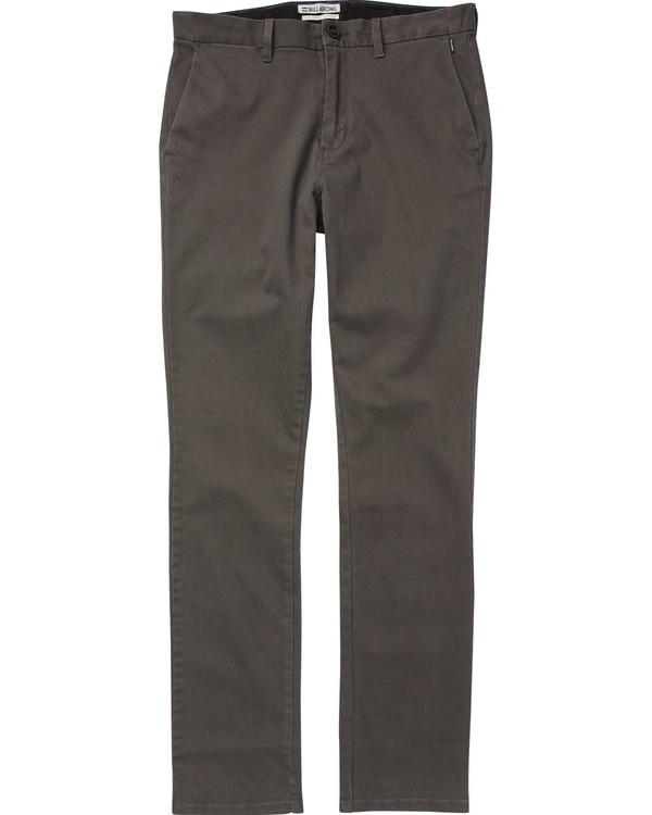 0 New Order Chino Pant Black M315QBNO Billabong