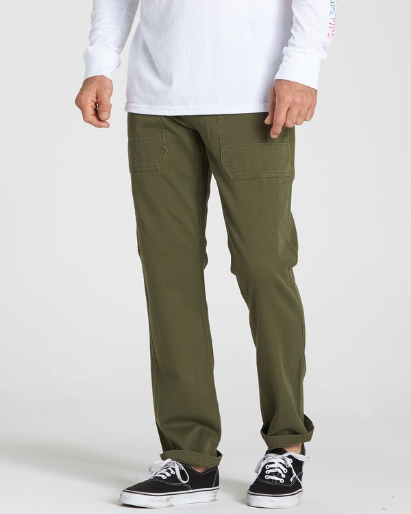 0 Collins Pant Green M317QBCO Billabong