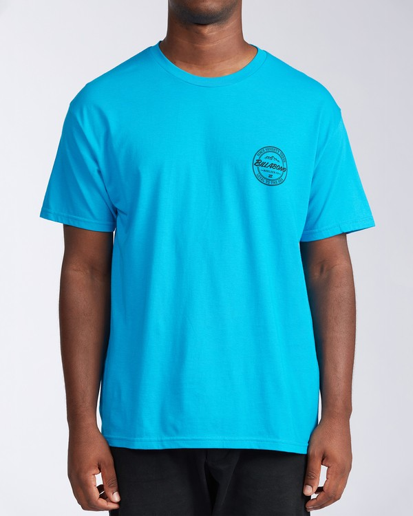 0 Boulder Colorado Coopertown Short Sleeve T-Shirt Blue M401KCCO Billabong