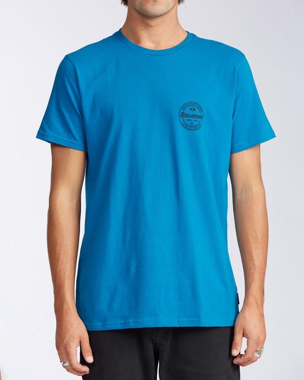 0 Santa Cruz Coopertown Short Sleeve T-Shirt Blue M401KCSC Billabong