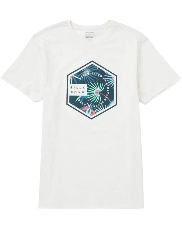 0 Access T-Shirt White M401NBAC Billabong
