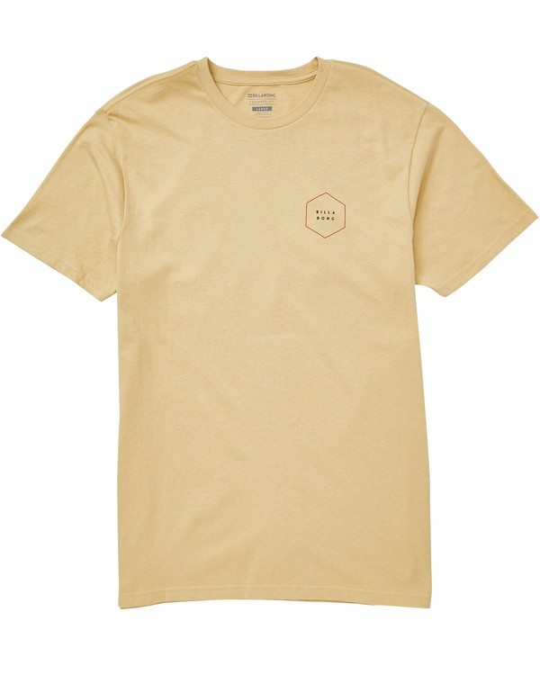 0 Access Border Tee Beige M401QBAC Billabong