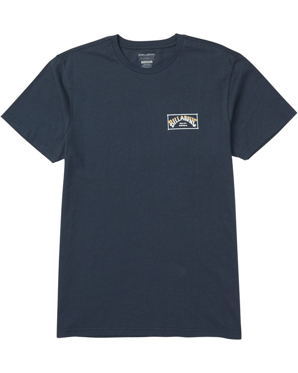 0 Arch Box T-Shirt Blue M401SBAB Billabong