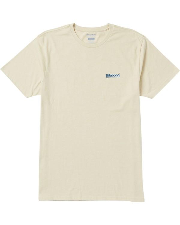 0 Pacific T-Shirt Beige M401SBPA Billabong