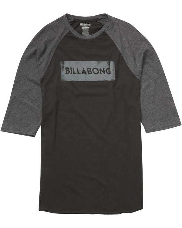 0 Static Block Raglan T-Shirt  M403KSTA Billabong