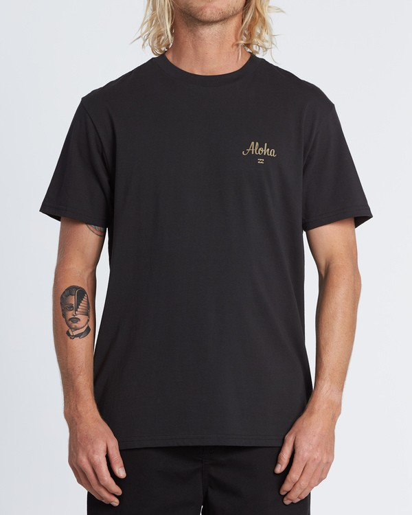 0 Aloha Short Sleeve T-Shirt Black M4041BAL Billabong