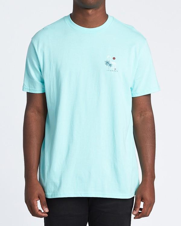 0 Apocalypse Short Sleeve T-Shirt Grey M4041BAP Billabong