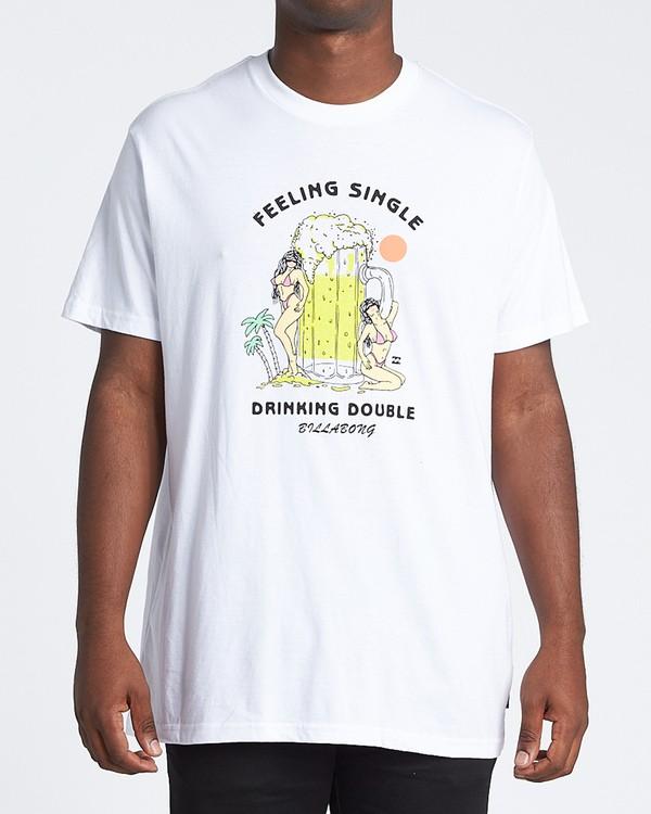 0 Bikini Short Sleeve T-Shirt White M4041BBN Billabong