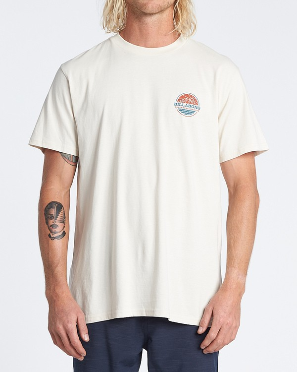 0 Daybreak Short Sleeve T-Shirt Brown M4041BDA Billabong