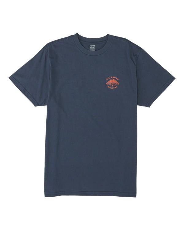 0 Hood Short Sleeve T-Shirt Blue M4041BHO Billabong
