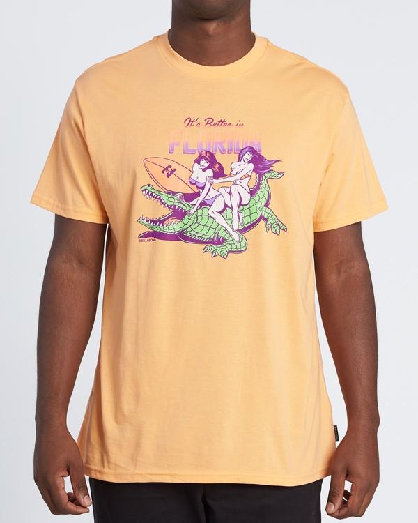 0 Its Better Short Sleeve T-Shirt  M4041BIB Billabong