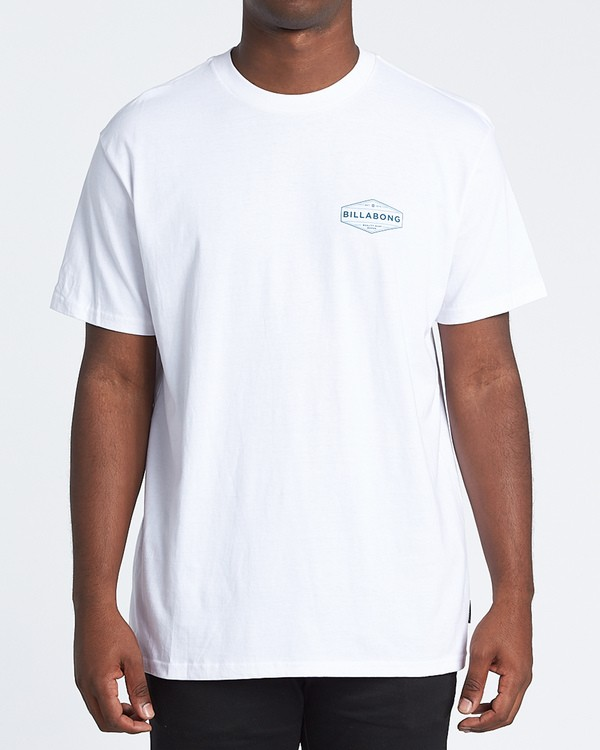 0 Liner Short Sleeve T-Shirt White M4041BLI Billabong