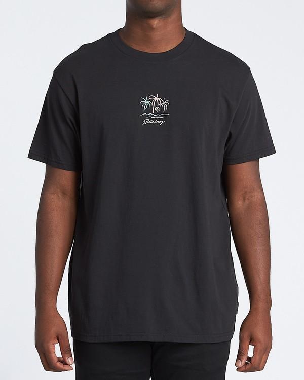 0 Mirage Short Sleeve T-Shirt Black M4041BMI Billabong