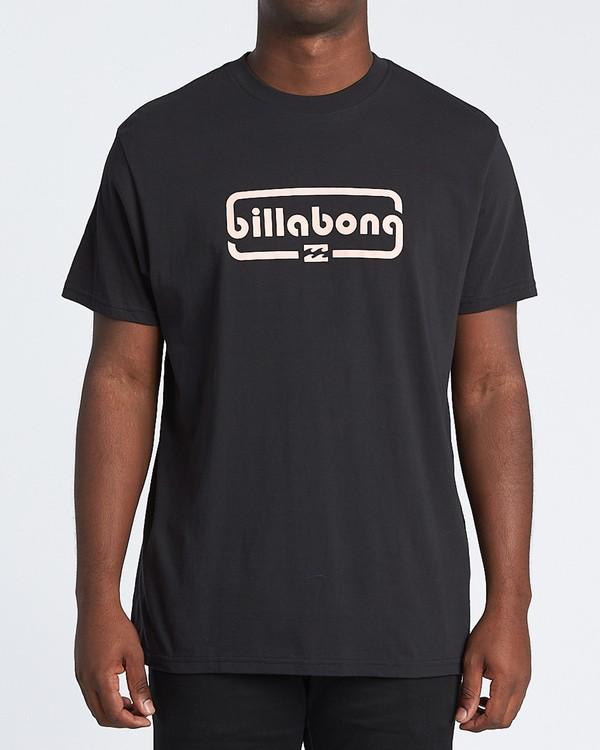 0 Repeat Short Sleeve T-Shirt Black M4041BRE Billabong