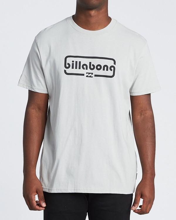 0 Repeat Short Sleeve T-Shirt Grey M4041BRE Billabong