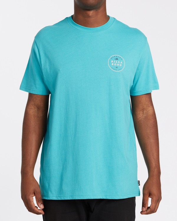 0 Rotor Florida Short Sleeve T-Shirt Green M4041BRF Billabong