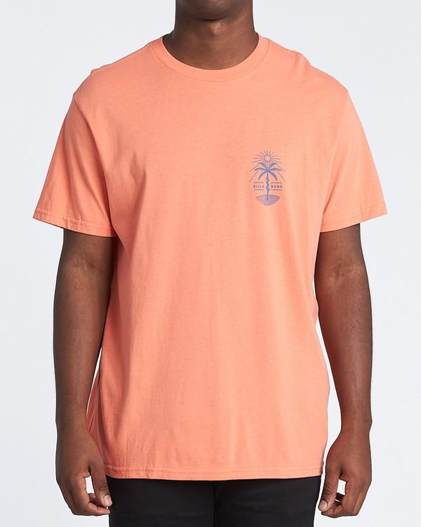 0 Treesnake Short Sleeve T-Shirt Pink M4041BTS Billabong