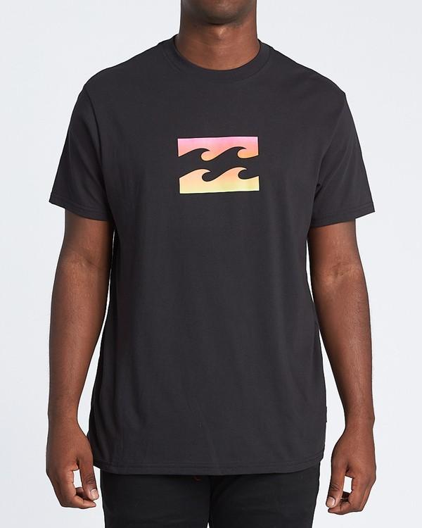 0 Team Wave Short Sleeve T-Shirt Black M4041BTW Billabong