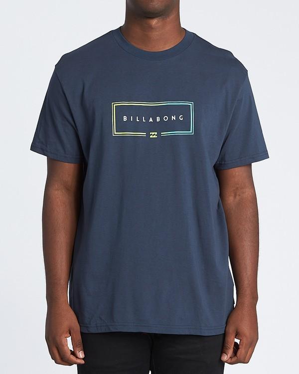 0 Union Short Sleeve T-Shirt Blue M4041BUN Billabong