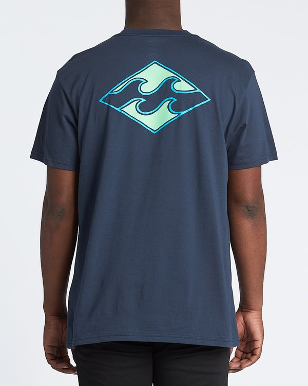 0 Warchild Short Sleeve T-Shirt Blue M4041BWA Billabong