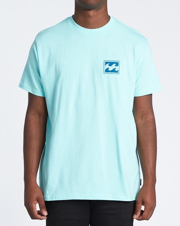 0 Warchild Short Sleeve T-Shirt Grey M4041BWA Billabong
