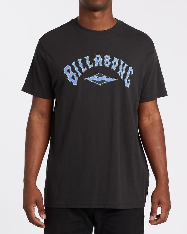 0 Arch Short Sleeve T-Shirt Black M4042BAR Billabong