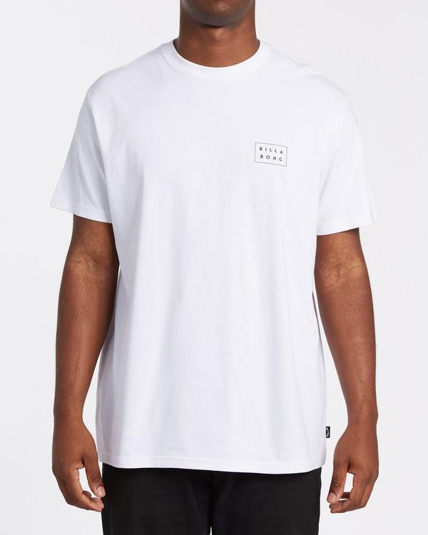 0 Diecut Short Sleeve T-Shirt White M4042BDC Billabong